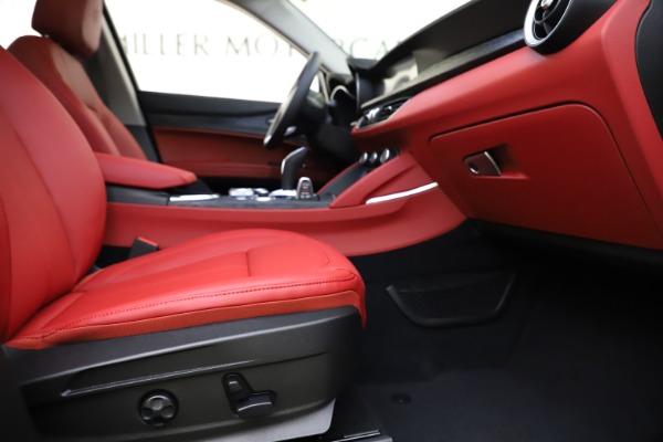 New 2021 Alfa Romeo Stelvio Q4 for sale $48,050 at Maserati of Westport in Westport CT 06880 23