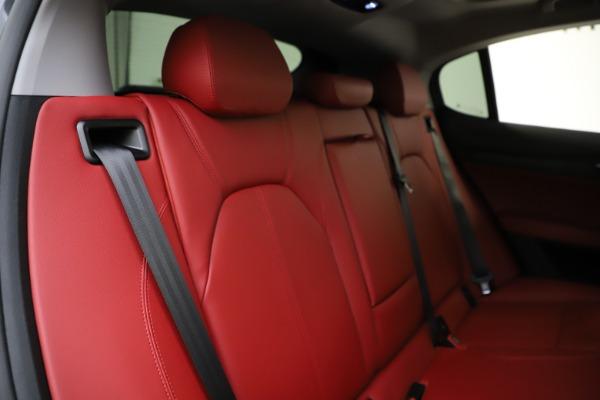 New 2021 Alfa Romeo Stelvio Q4 for sale $48,050 at Maserati of Westport in Westport CT 06880 26