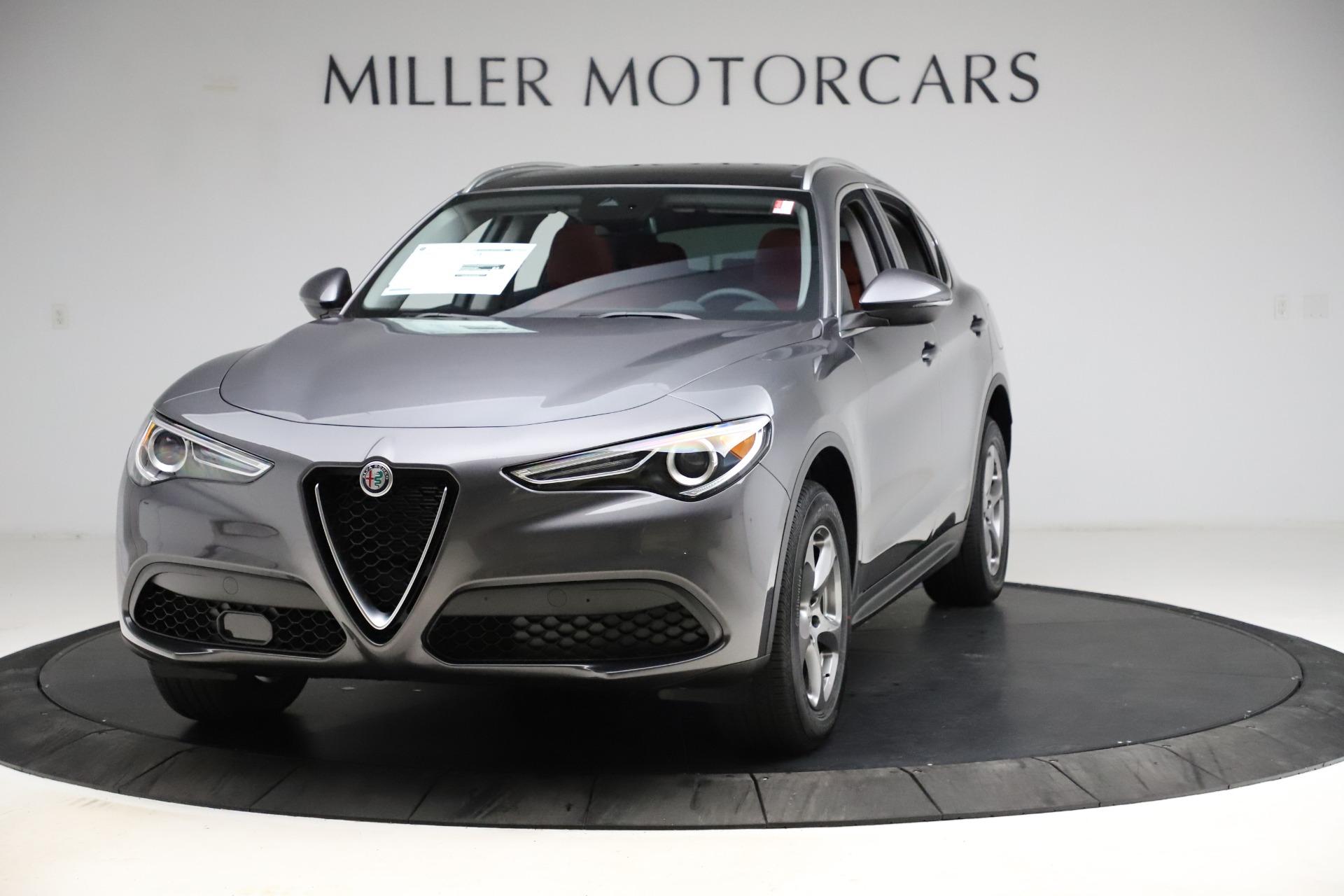 New 2021 Alfa Romeo Stelvio Q4 for sale $48,050 at Maserati of Westport in Westport CT 06880 1
