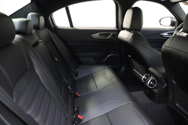 New 2021 Alfa Romeo Giulia Ti Sport for sale $52,940 at Maserati of Westport in Westport CT 06880 27