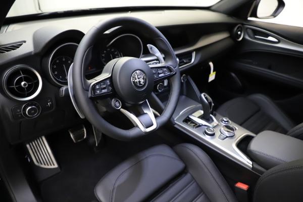 New 2021 Alfa Romeo Stelvio Ti Sport Q4 for sale $56,450 at Maserati of Westport in Westport CT 06880 13