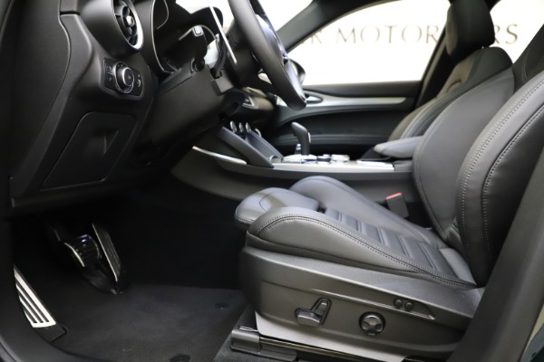 New 2021 Alfa Romeo Stelvio Ti Sport Q4 for sale $56,450 at Maserati of Westport in Westport CT 06880 14