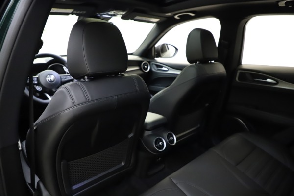 New 2021 Alfa Romeo Stelvio Ti Sport Q4 for sale $56,450 at Maserati of Westport in Westport CT 06880 20