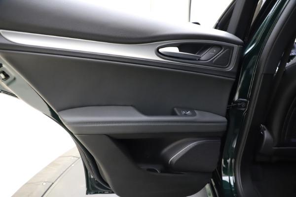 New 2021 Alfa Romeo Stelvio Ti Sport Q4 for sale $56,450 at Maserati of Westport in Westport CT 06880 21