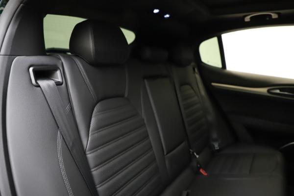 New 2021 Alfa Romeo Stelvio Ti Sport Q4 for sale $56,450 at Maserati of Westport in Westport CT 06880 26