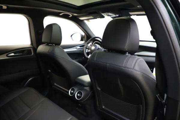 New 2021 Alfa Romeo Stelvio Ti Sport Q4 for sale $56,450 at Maserati of Westport in Westport CT 06880 28