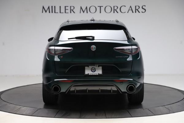 New 2021 Alfa Romeo Stelvio Ti Sport Q4 for sale $56,450 at Maserati of Westport in Westport CT 06880 6