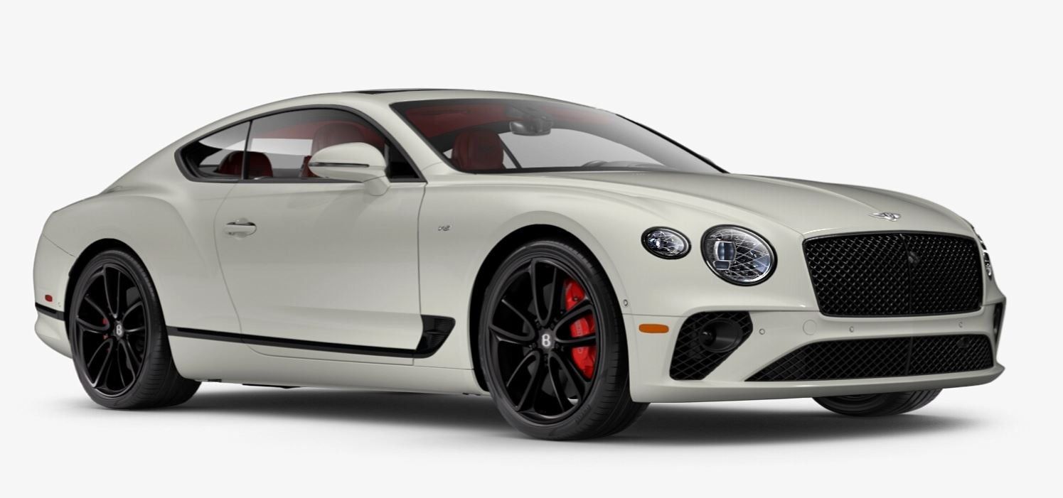 New 2021 Bentley Continental GT V8 for sale $270,170 at Maserati of Westport in Westport CT 06880 1