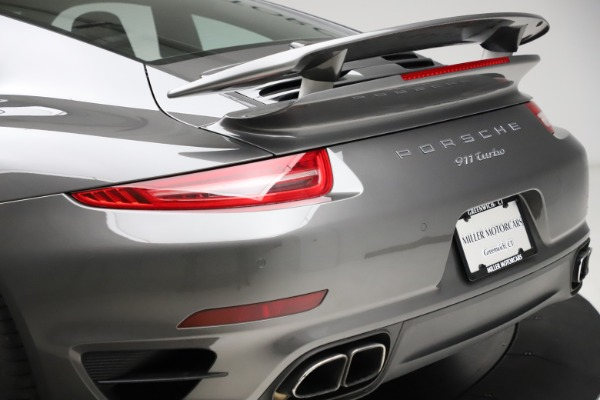 Used 2015 Porsche 911 Turbo for sale Call for price at Maserati of Westport in Westport CT 06880 27