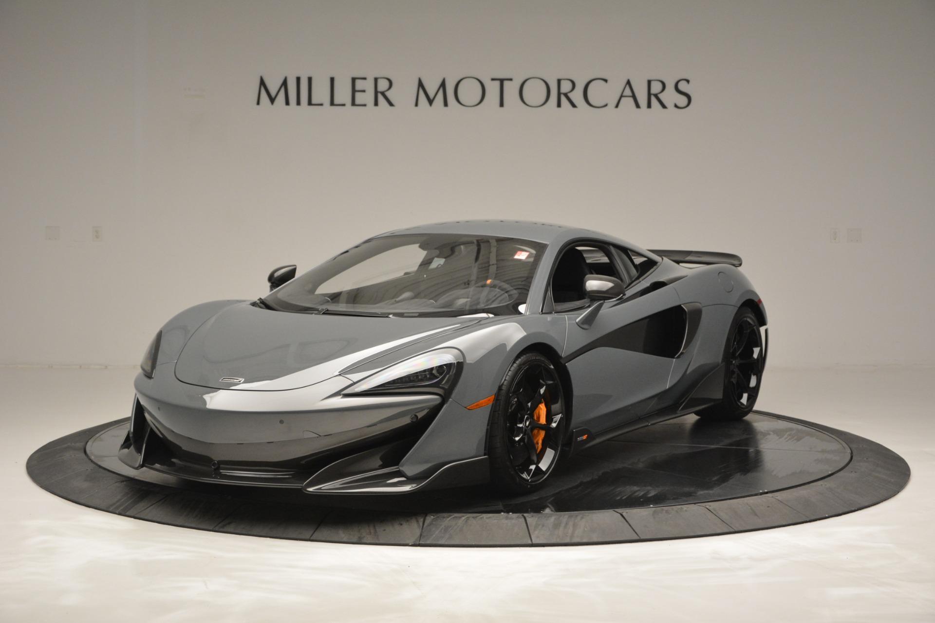 Used 2019 McLaren 600LT Luxury for sale Sold at Maserati of Westport in Westport CT 06880 1