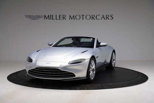 New 2021 Aston Martin Vantage Roadster for sale $184,286 at Maserati of Westport in Westport CT 06880 12