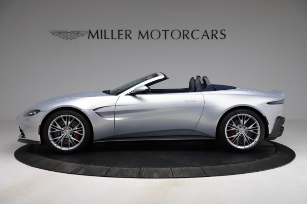 New 2021 Aston Martin Vantage Roadster for sale $184,286 at Maserati of Westport in Westport CT 06880 2