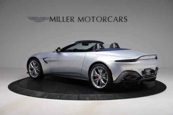 New 2021 Aston Martin Vantage Roadster for sale $184,286 at Maserati of Westport in Westport CT 06880 3