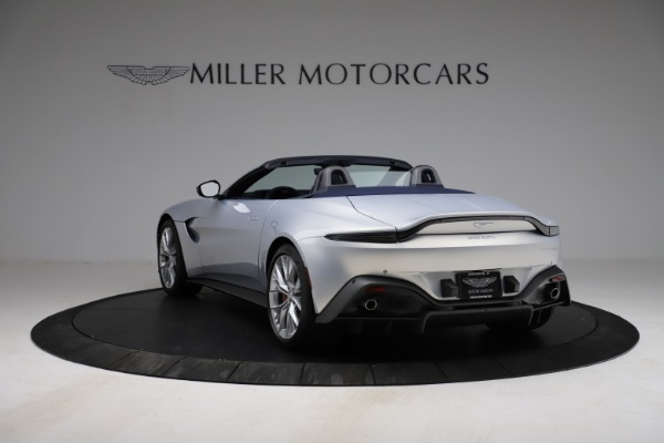 New 2021 Aston Martin Vantage Roadster for sale $184,286 at Maserati of Westport in Westport CT 06880 4