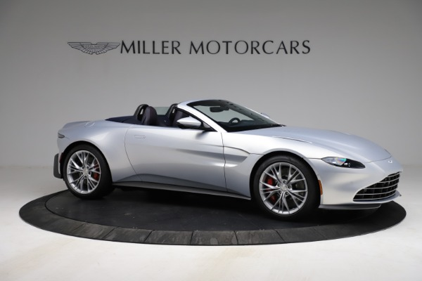 New 2021 Aston Martin Vantage Roadster for sale $184,286 at Maserati of Westport in Westport CT 06880 9