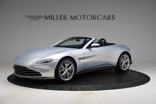 New 2021 Aston Martin Vantage Roadster for sale $184,286 at Maserati of Westport in Westport CT 06880 1