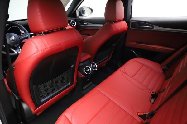 New 2021 Alfa Romeo Stelvio Ti Sport Q4 for sale Sold at Maserati of Westport in Westport CT 06880 18