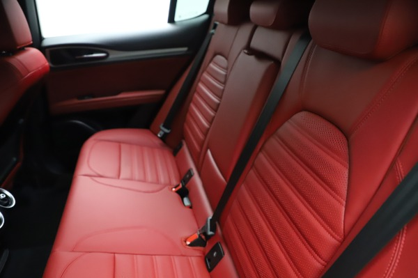 New 2021 Alfa Romeo Stelvio Ti Sport Q4 for sale Sold at Maserati of Westport in Westport CT 06880 20