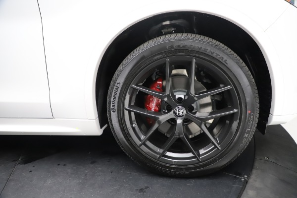 New 2021 Alfa Romeo Stelvio Ti Sport Q4 for sale Sold at Maserati of Westport in Westport CT 06880 28