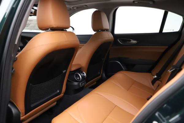 New 2021 Alfa Romeo Giulia Ti Q4 for sale $52,600 at Maserati of Westport in Westport CT 06880 20