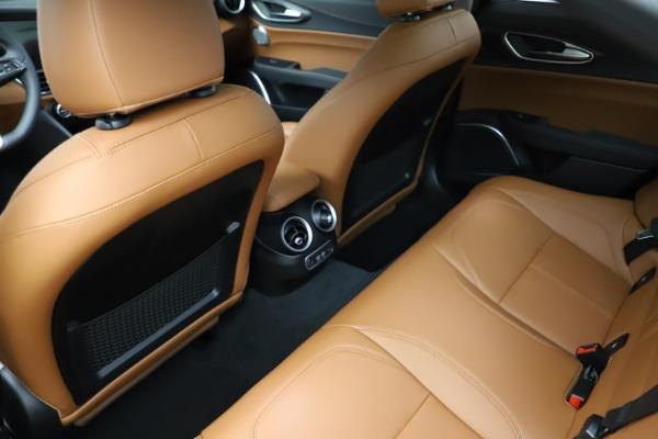 New 2021 Alfa Romeo Giulia Ti Q4 for sale Sold at Maserati of Westport in Westport CT 06880 21