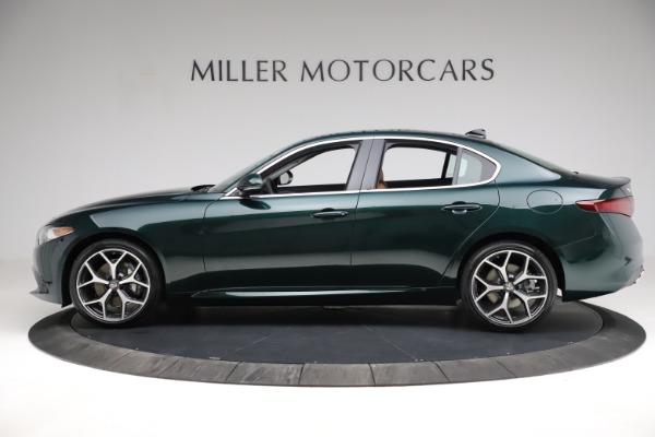 New 2021 Alfa Romeo Giulia Ti Q4 for sale $52,600 at Maserati of Westport in Westport CT 06880 4
