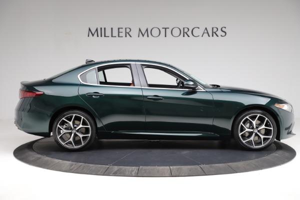 New 2021 Alfa Romeo Giulia Ti Q4 for sale $52,600 at Maserati of Westport in Westport CT 06880 9