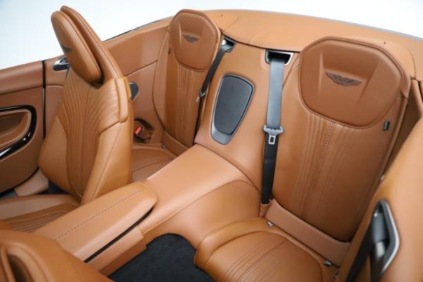 New 2021 Aston Martin DB11 Volante for sale $272,686 at Maserati of Westport in Westport CT 06880 21