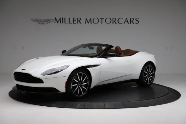 New 2021 Aston Martin DB11 Volante for sale $272,686 at Maserati of Westport in Westport CT 06880 1