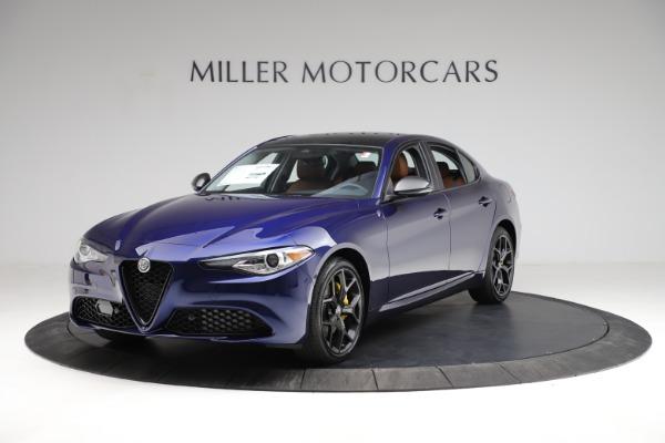 New 2021 Alfa Romeo Giulia Ti Q4 for sale $51,350 at Maserati of Westport in Westport CT 06880 1