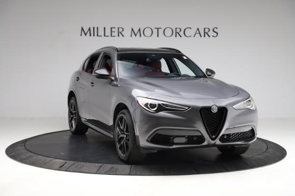 New 2021 Alfa Romeo Stelvio Ti Sport Q4 for sale Sold at Maserati of Westport in Westport CT 06880 12