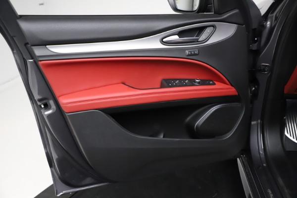 New 2021 Alfa Romeo Stelvio Ti Sport Q4 for sale Sold at Maserati of Westport in Westport CT 06880 17