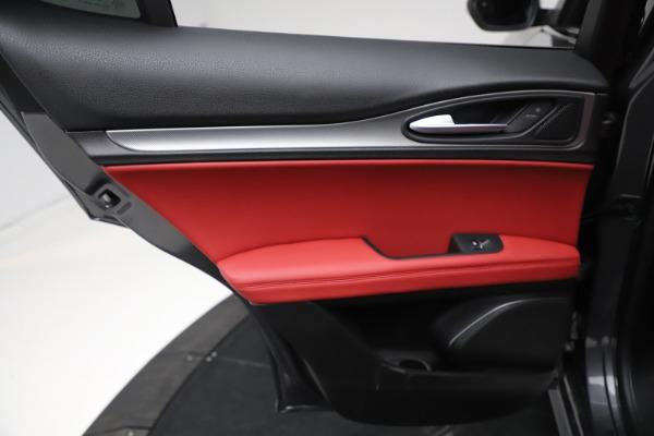 New 2021 Alfa Romeo Stelvio Ti Sport Q4 for sale Sold at Maserati of Westport in Westport CT 06880 21