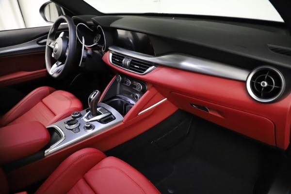 New 2021 Alfa Romeo Stelvio Ti Sport Q4 for sale Sold at Maserati of Westport in Westport CT 06880 22