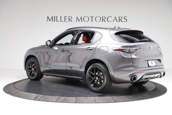 New 2021 Alfa Romeo Stelvio Ti Sport Q4 for sale Sold at Maserati of Westport in Westport CT 06880 4