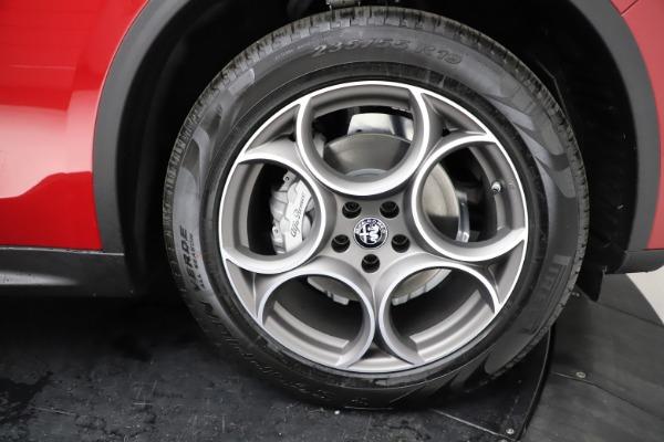 New 2021 Alfa Romeo Stelvio Q4 for sale $50,535 at Maserati of Westport in Westport CT 06880 28