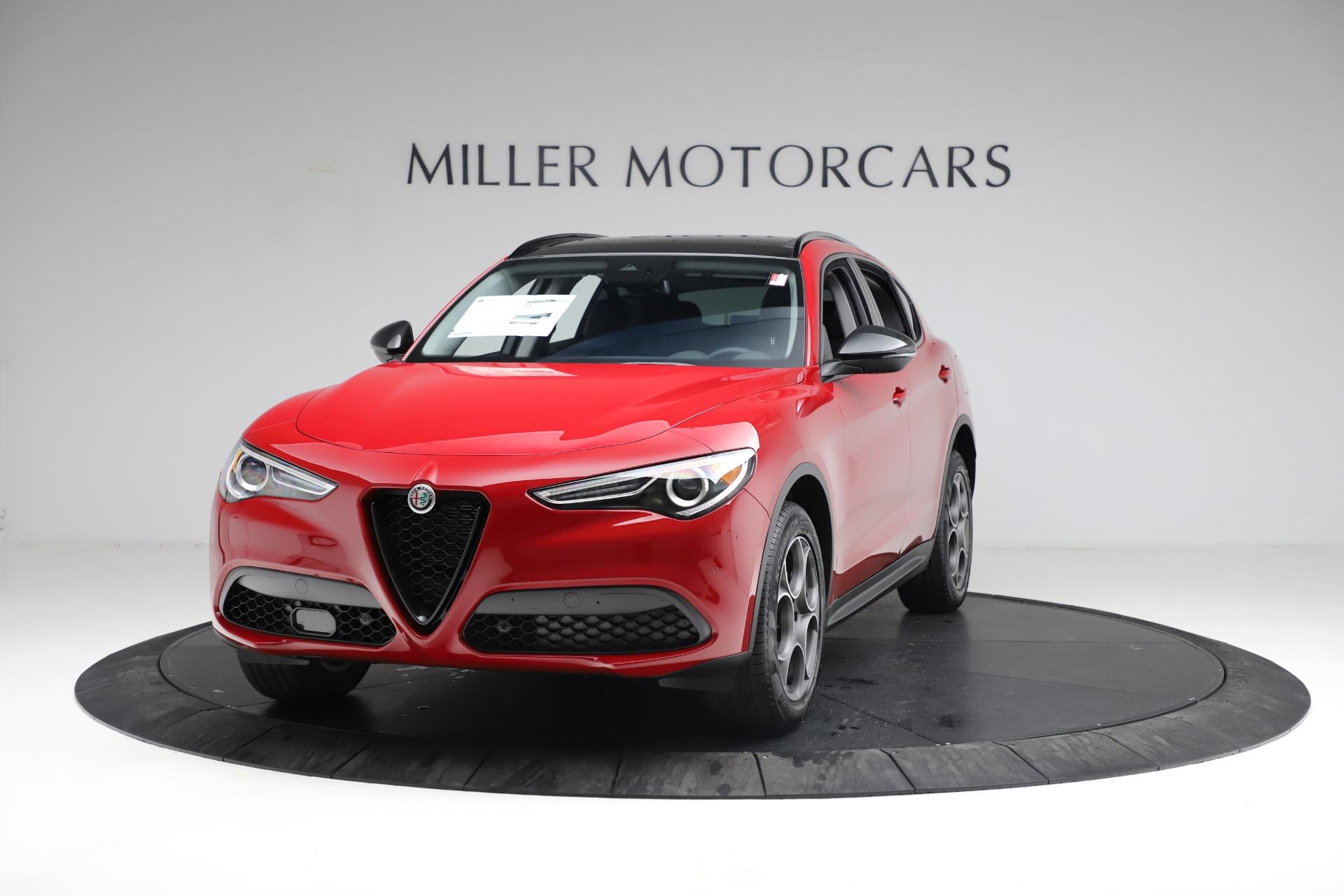 New 2021 Alfa Romeo Stelvio Q4 for sale $50,535 at Maserati of Westport in Westport CT 06880 1