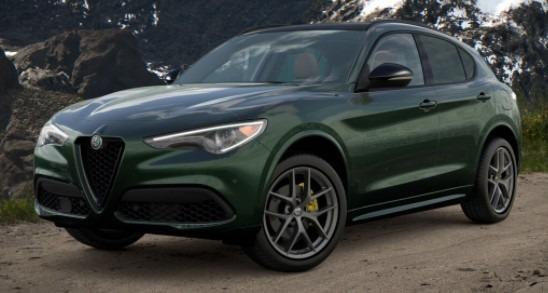 New 2021 Alfa Romeo Stelvio Ti Sport Q4 for sale $56,400 at Maserati of Westport in Westport CT 06880 1