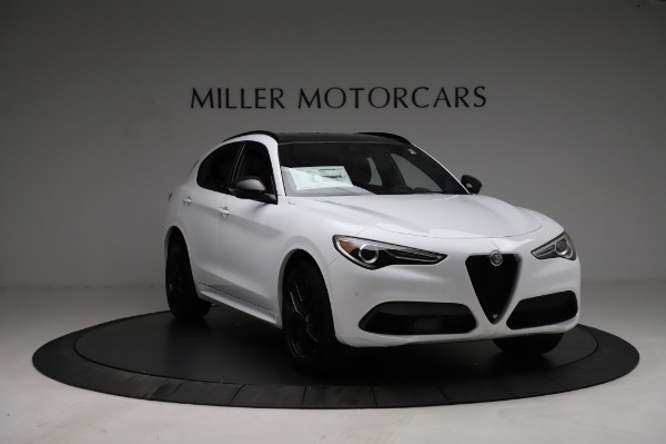 New 2021 Alfa Romeo Stelvio Ti Sport Q4 for sale Sold at Maserati of Westport in Westport CT 06880 11