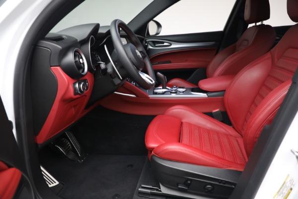 New 2021 Alfa Romeo Stelvio Ti Sport Q4 for sale Sold at Maserati of Westport in Westport CT 06880 14