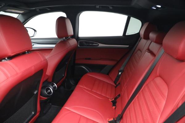 New 2021 Alfa Romeo Stelvio Ti Sport Q4 for sale Sold at Maserati of Westport in Westport CT 06880 19