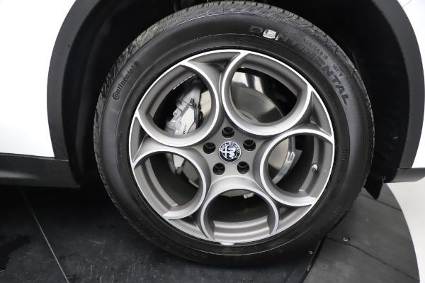 New 2021 Alfa Romeo Stelvio Q4 for sale Sold at Maserati of Westport in Westport CT 06880 27