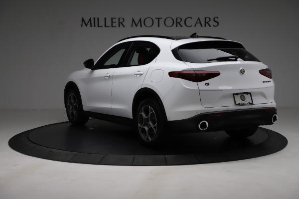 New 2021 Alfa Romeo Stelvio Q4 for sale Sold at Maserati of Westport in Westport CT 06880 5