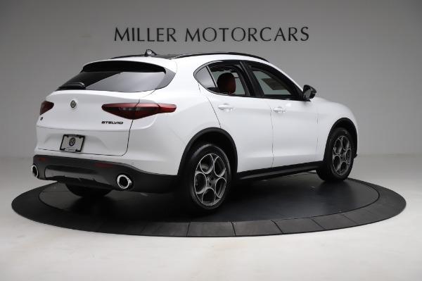 New 2021 Alfa Romeo Stelvio Q4 for sale Sold at Maserati of Westport in Westport CT 06880 7