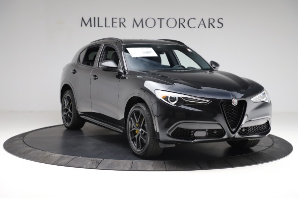 New 2021 Alfa Romeo Stelvio Ti Sport Q4 for sale $57,595 at Maserati of Westport in Westport CT 06880 11