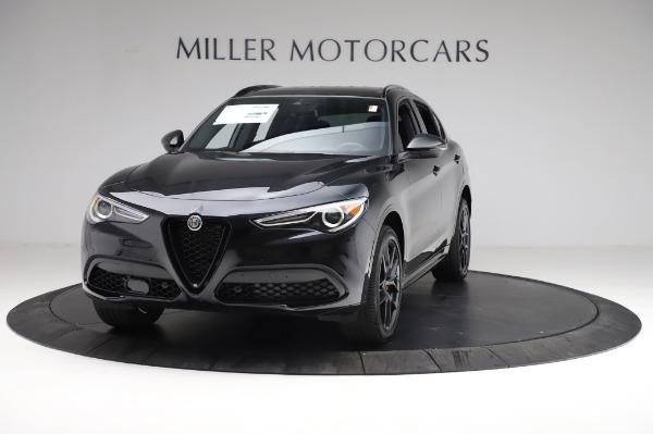 New 2021 Alfa Romeo Stelvio Ti Sport Q4 for sale $57,395 at Maserati of Westport in Westport CT 06880 1