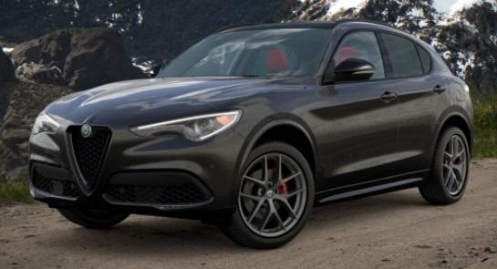 New 2021 Alfa Romeo Stelvio Ti Sport for sale $55,950 at Maserati of Westport in Westport CT 06880 1