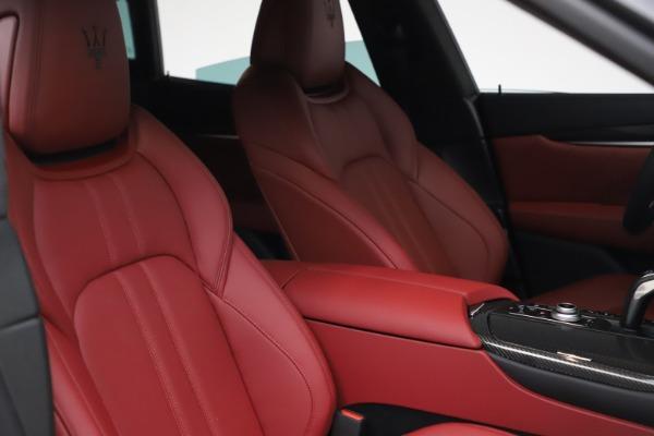 New 2021 Maserati Levante S Q4 GranSport for sale $105,835 at Maserati of Westport in Westport CT 06880 19