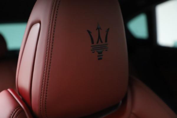 New 2021 Maserati Levante S Q4 GranSport for sale $105,835 at Maserati of Westport in Westport CT 06880 23