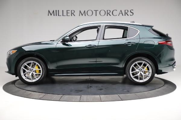 New 2021 Alfa Romeo Stelvio Ti Q4 for sale Sold at Maserati of Westport in Westport CT 06880 3